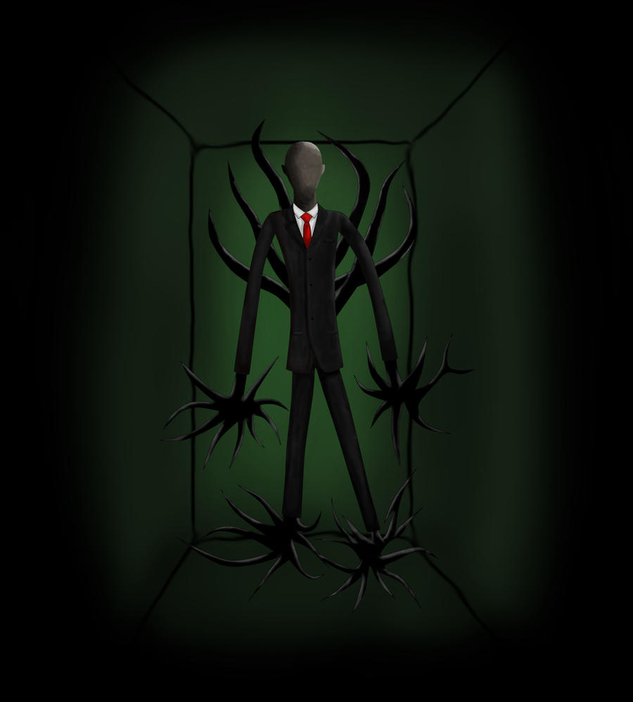 Slenderman (request for deviel669) by Skeletal-Clown