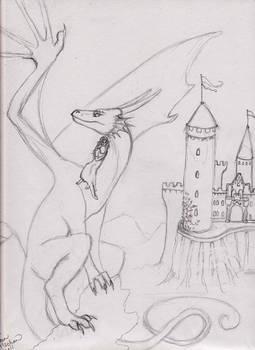 Dragon 2 Commission Sketch