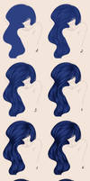 .:Hair Tutorial:. by EvilZera