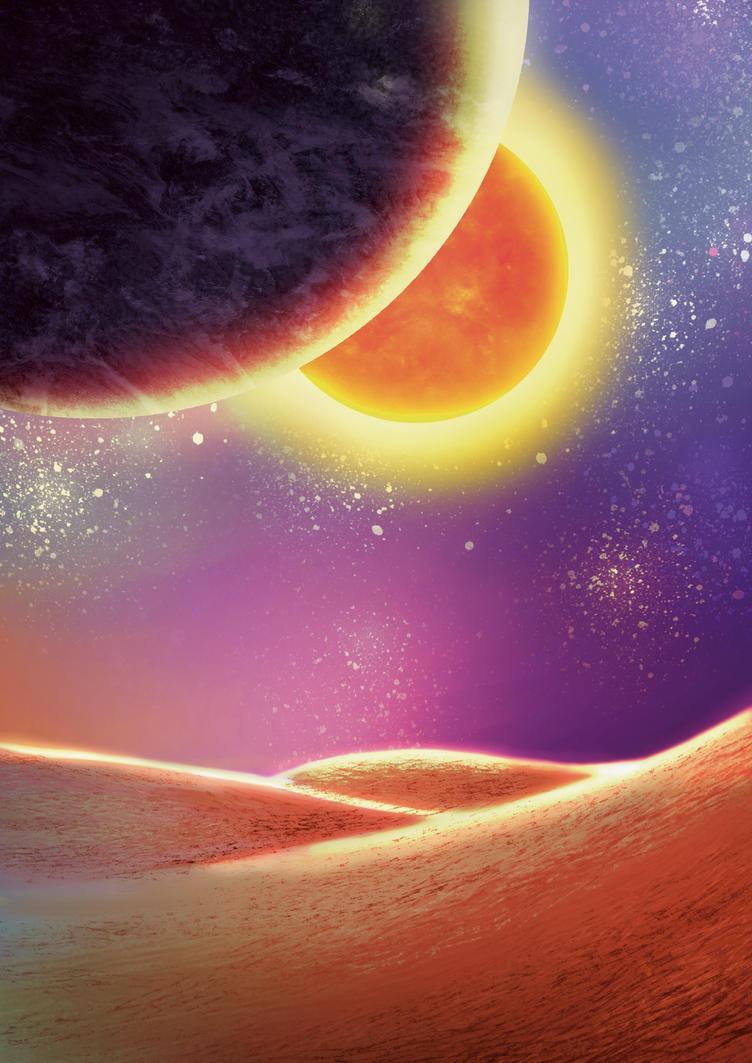 Space Desert by HimuraDan