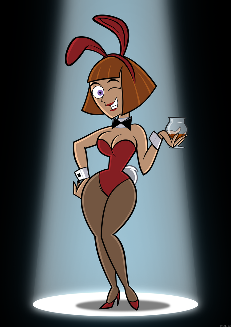 Bunny Girl Maddie by DLToon