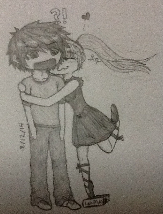 Ryuuko Loves Eli by Sunbeargirl