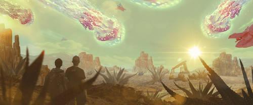 Space pilgrims / Vesmirni poutnici