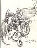 tattoo dragon by PretzlCosplay