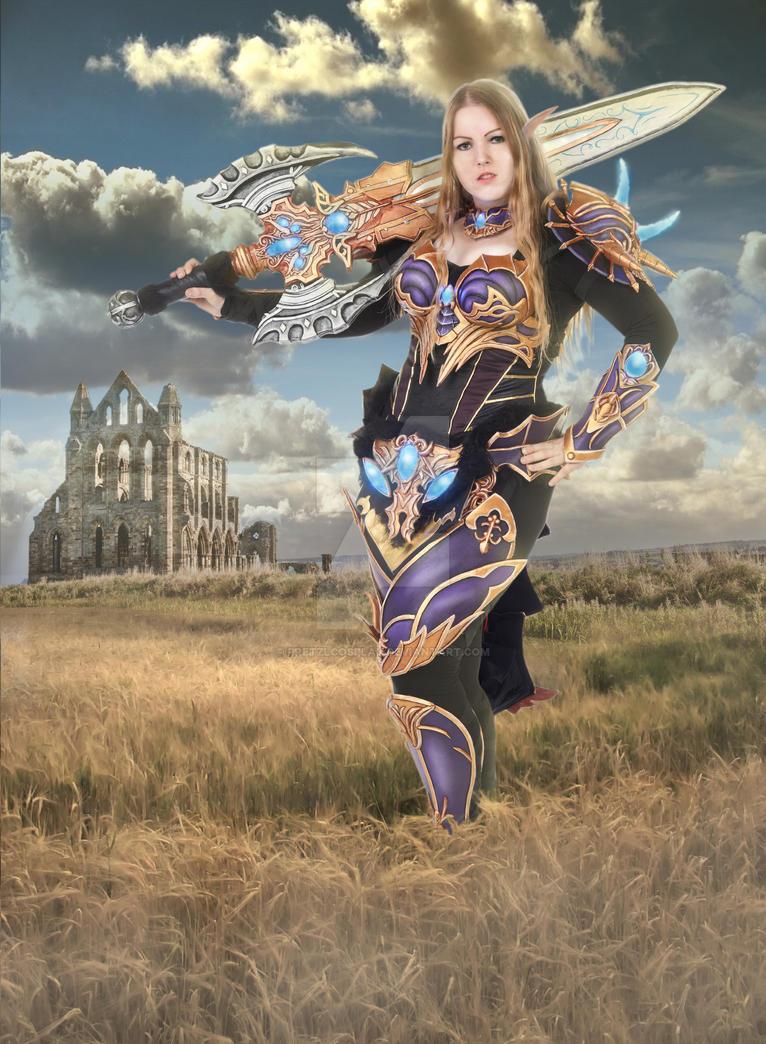 Moirai elf - Lineage 2 cosplay by PretzlCosplay