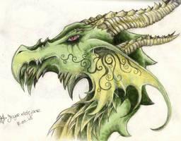 dragon head by PretzlCosplay