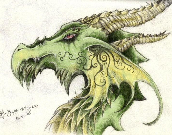 dragon head by pretzlcosplay on deviantart