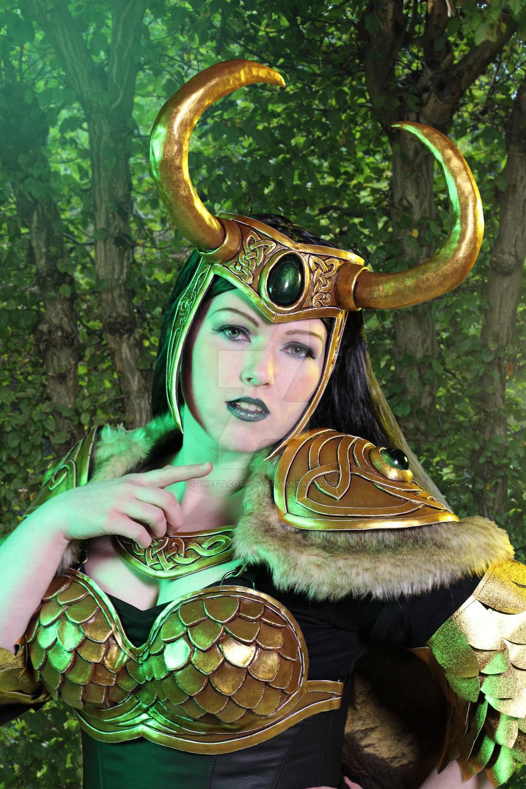 Lady Loki  - graceful by PretzlCosplay