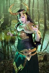 Lady Loki - powerful