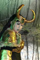 Lady Loki - fierce