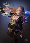 Lineage 2 Moirai armor cosplay by PretzlCosplay