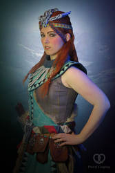 Aloy Banuk Ice hunter outfit - Horizon Zero Dawn