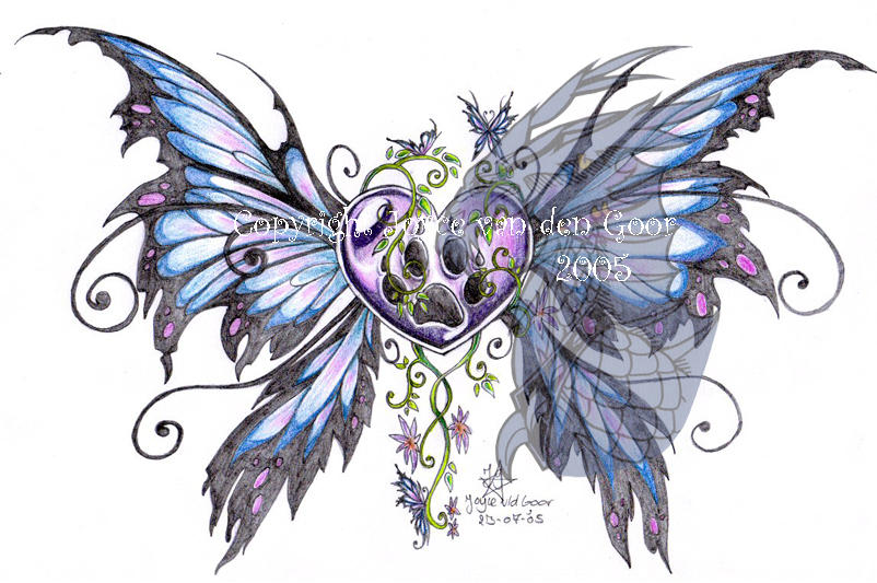 Wild Heart Tattoo design