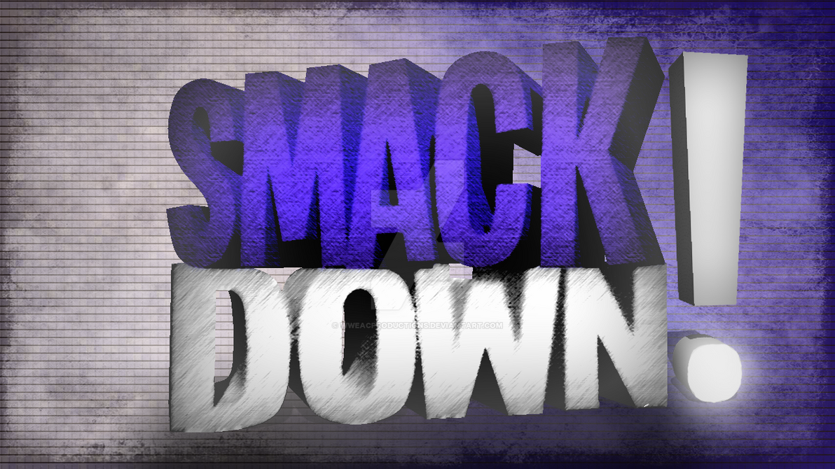 Custom SmackDown Wallpaper 2016 By WWEACProductions