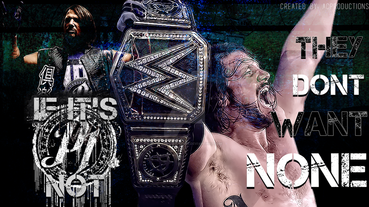 Wwe Aj Styles Wallpaper 2016 Phenomenalone By Wweacproductions