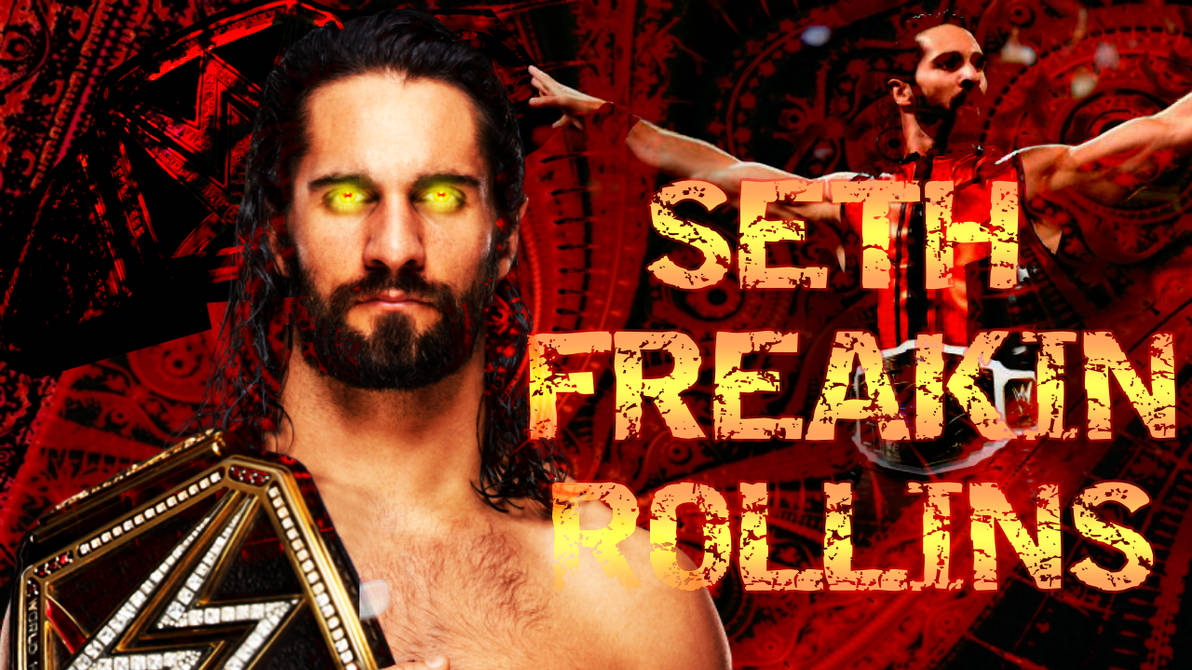 Wwe Seth Rollins Wwe Championship Wallpaper By Wweacproductions On
