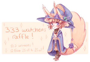 333 Watchers raffle ! [CLOSED]
