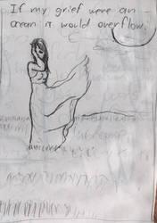 Grief like an Ocean by Artikano