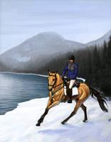Ahren Suomi Winter Endurance by xKhamsinStables