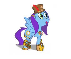 Tic Tock - Steampunk Pony