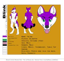 Blink Reference Sheet