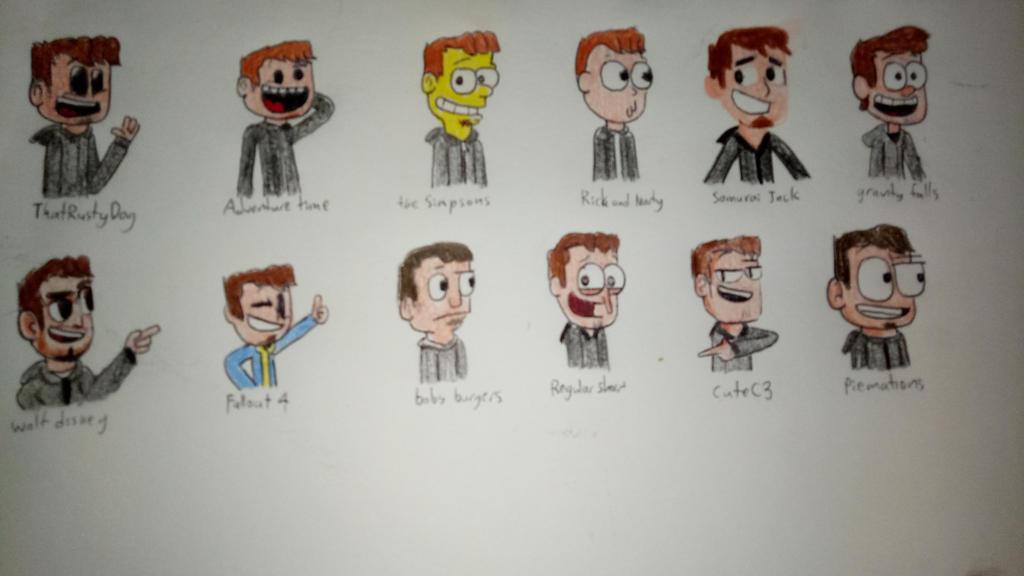 Drawing style by ThatRustyDog