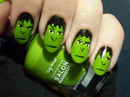 Franken-fingers by shadowcat-666