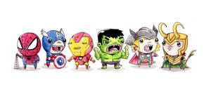 Marvel Cuties