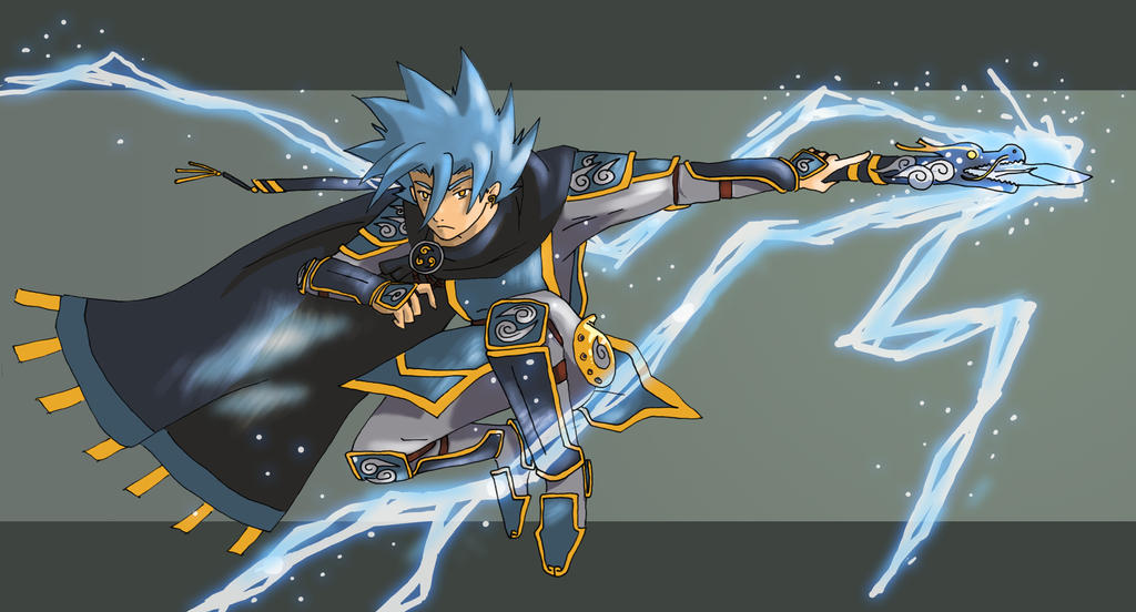 Lightning Mage by yuzchris