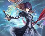 Touhou - Byakuren Dazzling magic