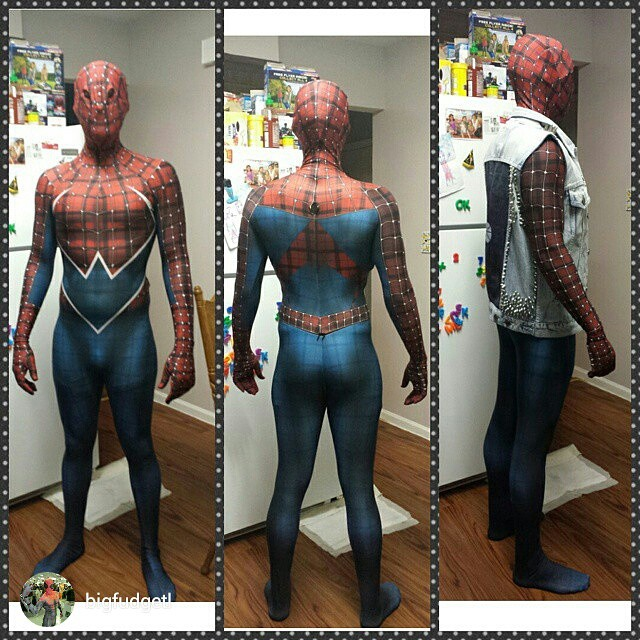 Punk Rock Spider-Man V3 by Crazy23Franky on DeviantArt
