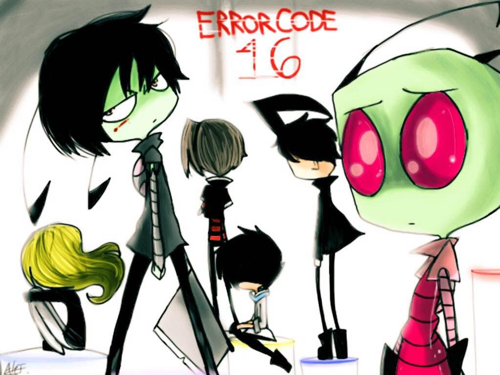 Error Code 16 - Poster by MoonlightWolf17