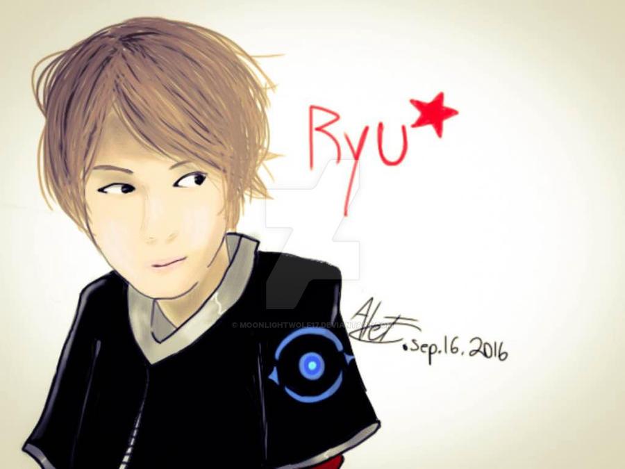 Realistic Ryu by MoonlightWolf17