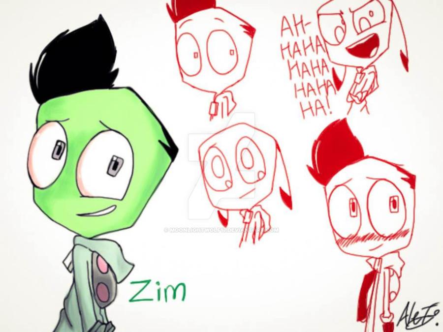 EC16 - ZIM Expresion Doodles by MoonlightWolf17