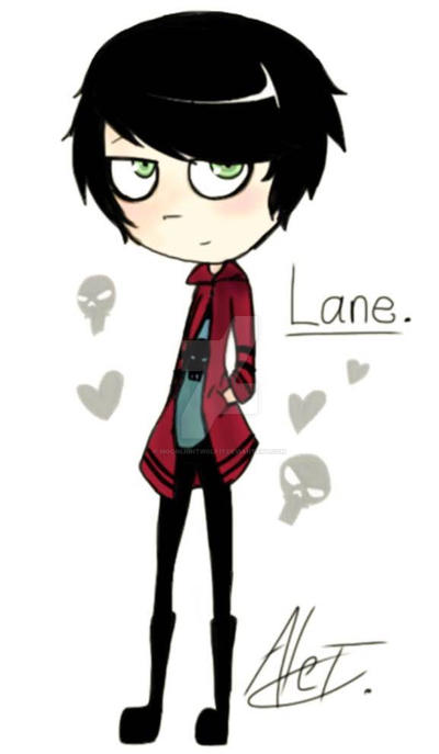 OC: Lane by MoonlightWolf17