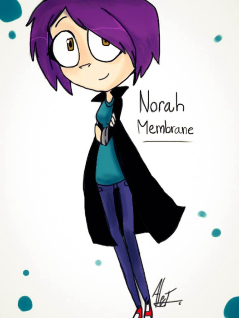 Norah Membrane by MoonlightWolf17