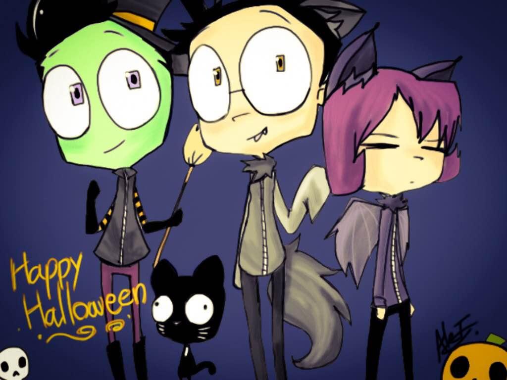 Happy Halloween! by MoonlightWolf17