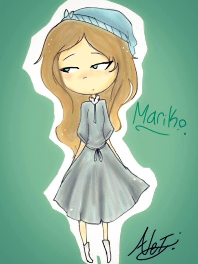 Invader Zim OC - Mariko by MoonlightWolf17