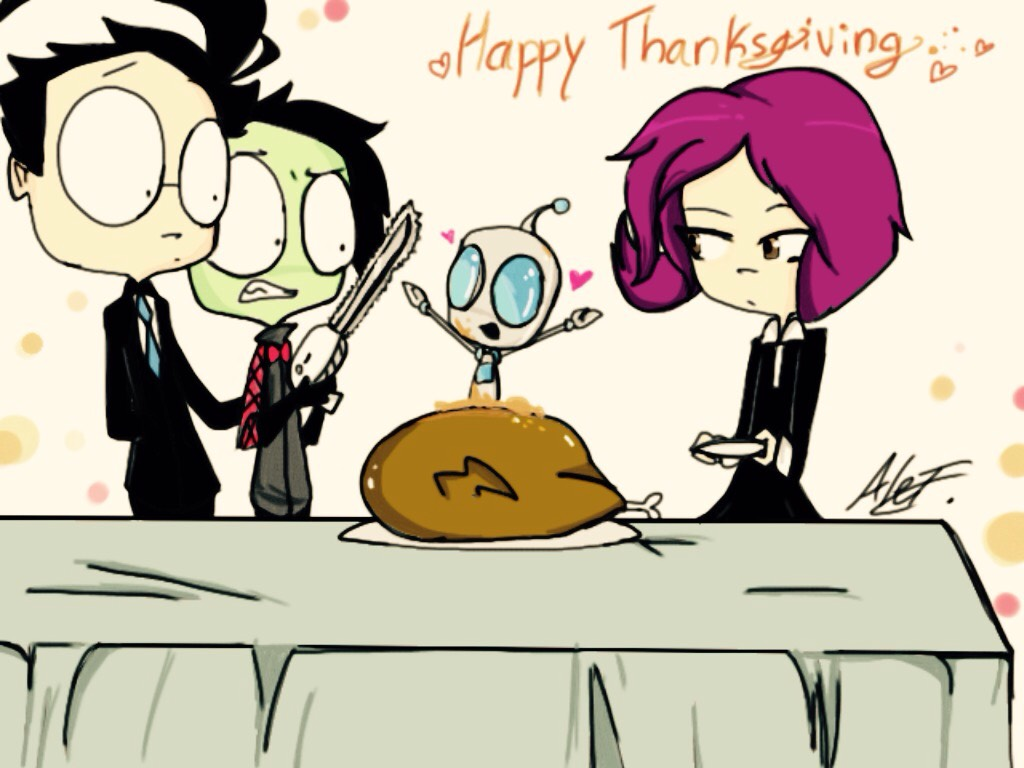 Happy Thanksgiving 2016! by MoonlightWolf17