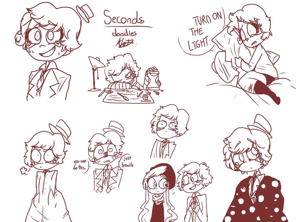 Seconds - Doodles by MoonlightWolf17