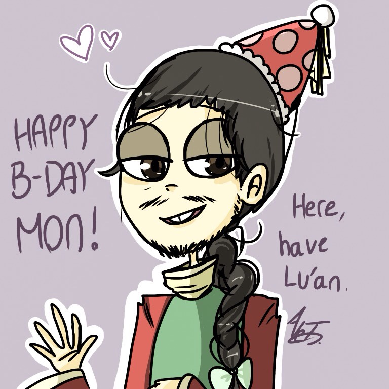 Happy Birthday Mon! by MoonlightWolf17