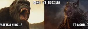 KONG VS GODZILLA by Lmpkio