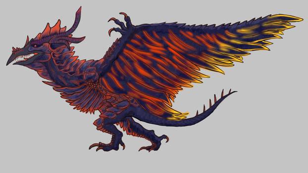 Obsidian Rodan (Fiery)