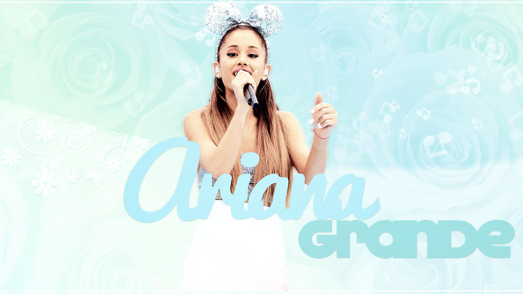 Wallpaper ariana grande by rennyeditions on deviantart wallpaper ariana grande by rennyeditions voltagebd Image collections