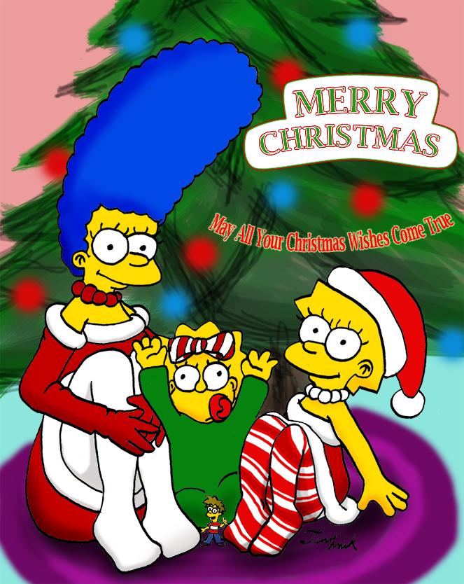 A Big Simpsons Christmas Wish by tinymik