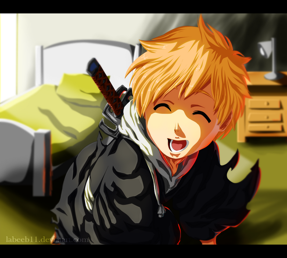 I am Kind Of Shinigami too !! by Labeeb11