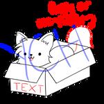Cat in a Box! [YCH]