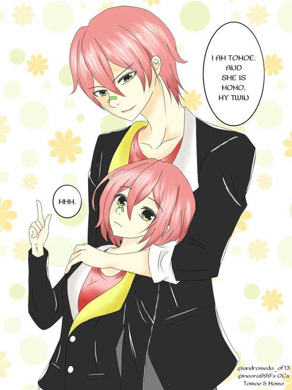 Tomoe and Momo by rhena9andromeda