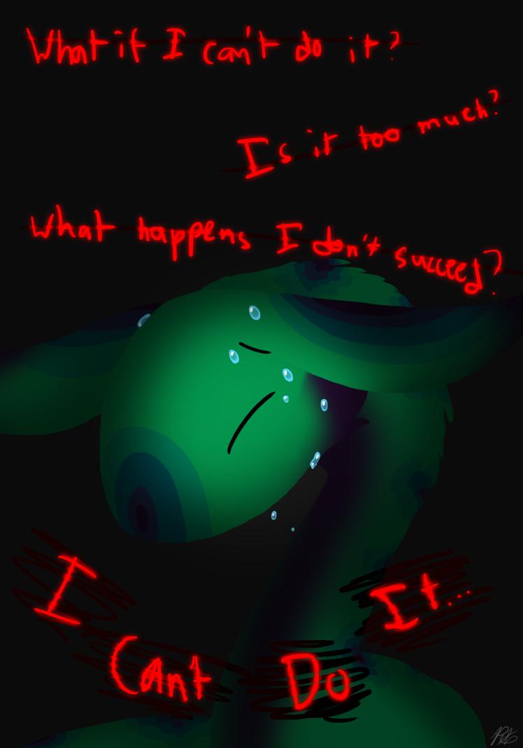 Anxio's Problem by PoppyWolfMoon