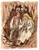 The Princess and the Goblin by frivolousdistinction